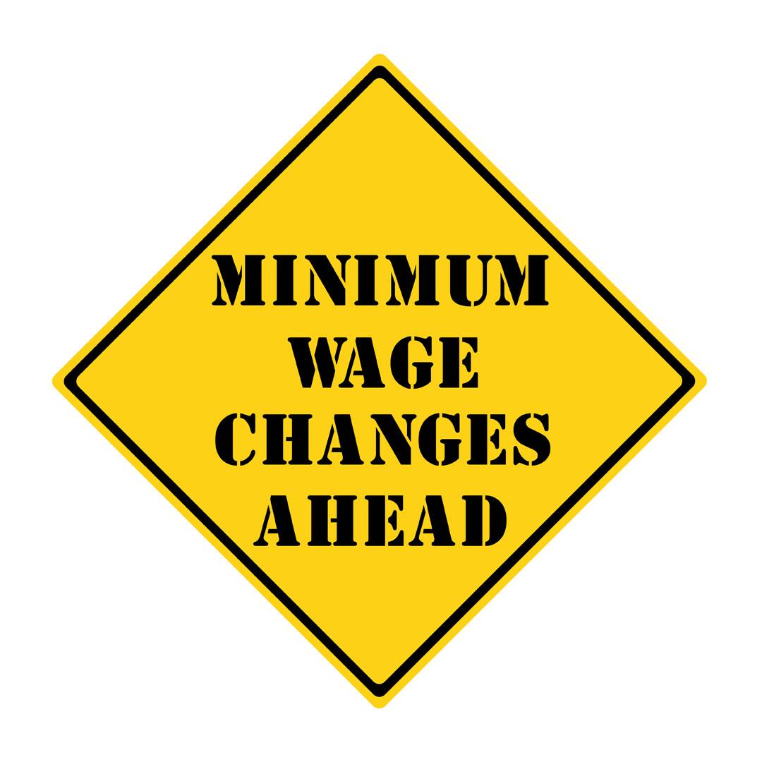 MinimumWageRoadSign